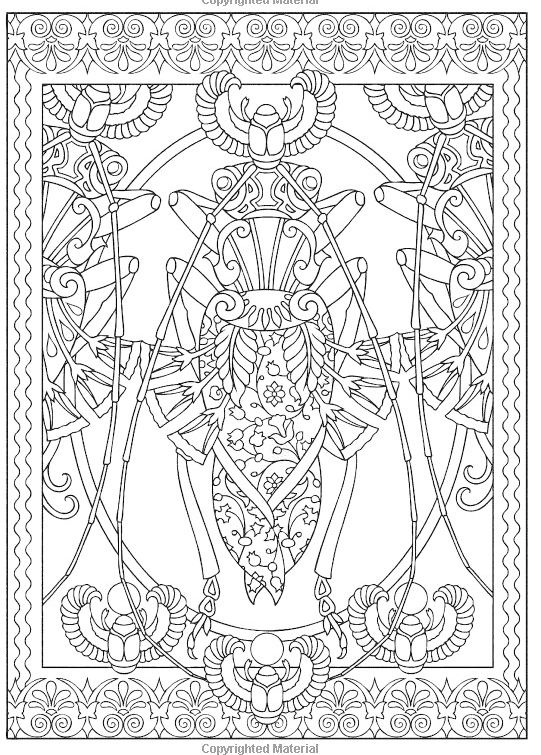 insect-mandala-coloring-pictures