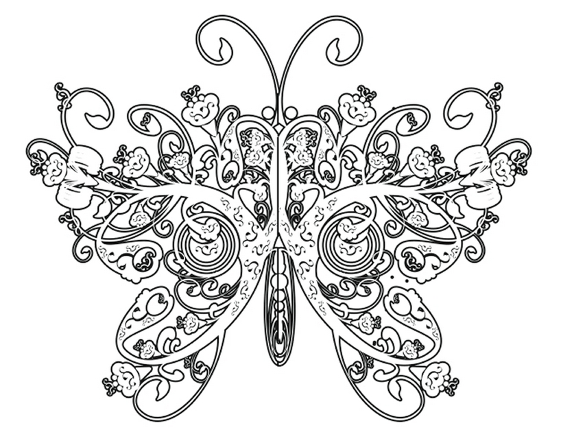 intricate-butterfly-coloring-book