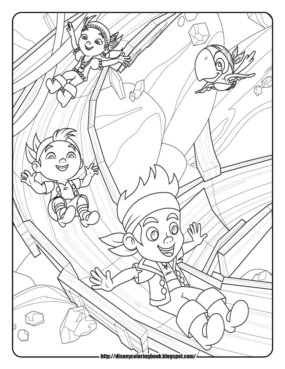 jake-and-the-never-land-pirates-coloring-printable
