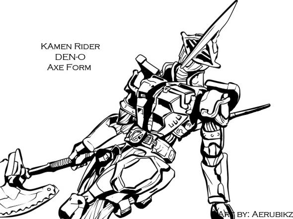 kamen_rider_den_o_axe_form_coloring_book