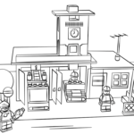 lego-duplo-fire-station-coloring-page