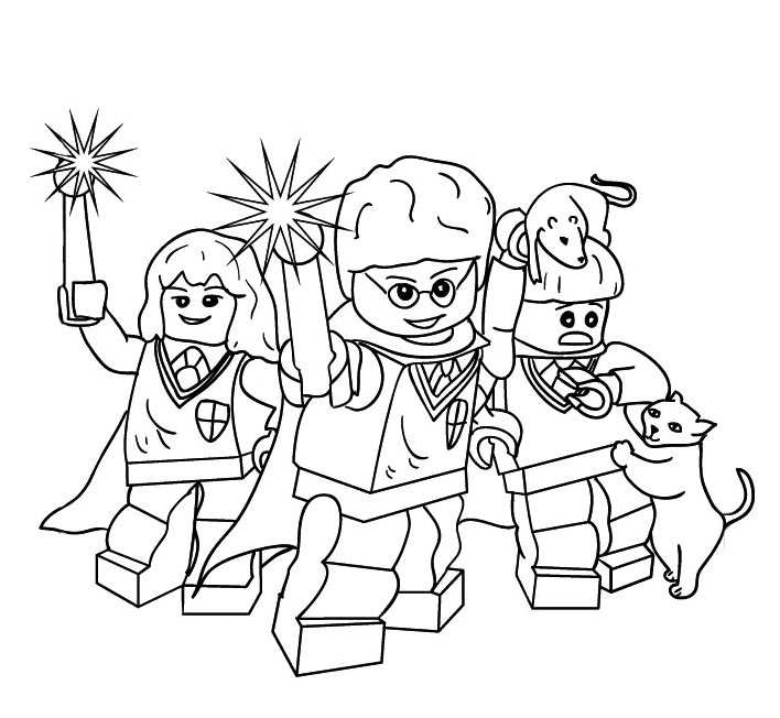 harry potter lego coloring pages Coloring Pages Ideas