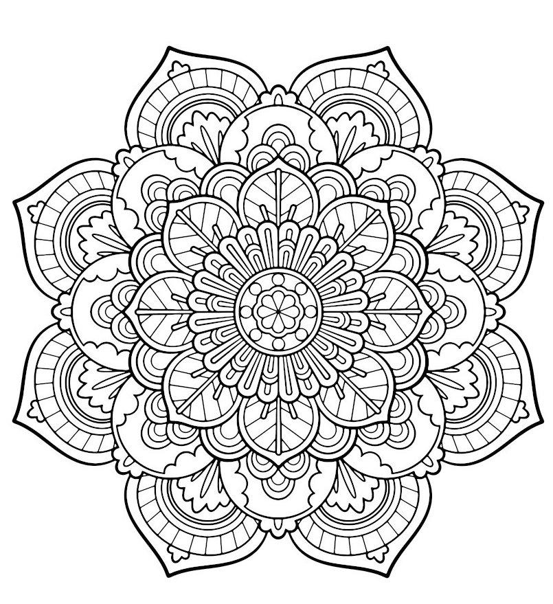 mandala-flower-coloring-picture