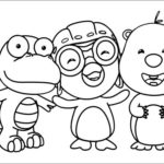 pororo-the-little-penguin-and-friends-coloring-pages
