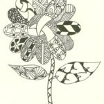 printable-zentangle-flower-coloring-page
