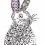 rabbit-zentangle-clip-art