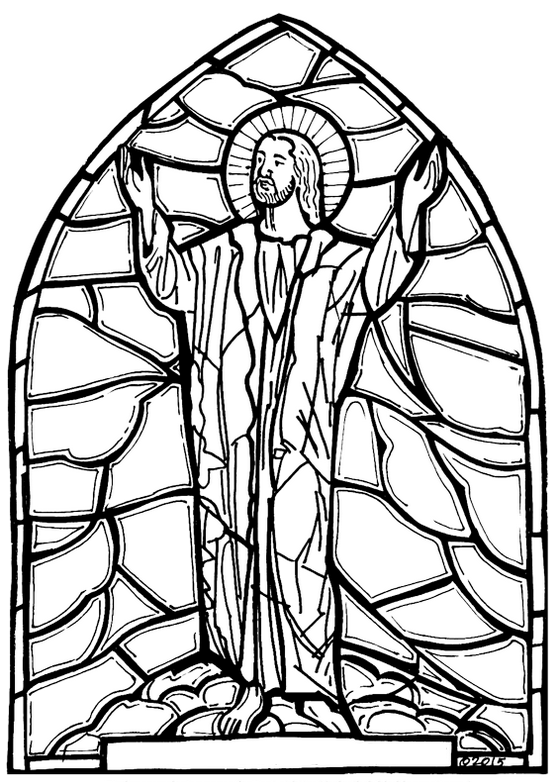 stained-glass-in-chruch-coloring-page