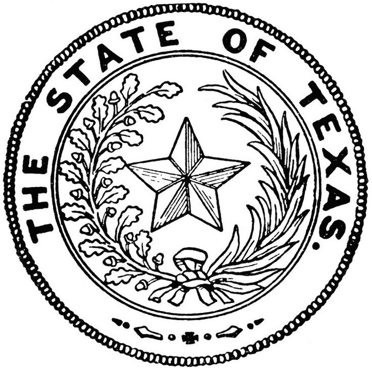texas-symbol-seal-coloring-book