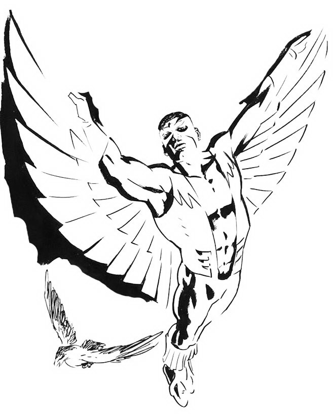 the_falcon_superhero_colouring