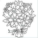 wedding-flower-bouquet-coloring-picture
