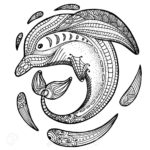 zentangle-dolphin-coloring-picture