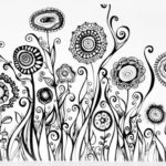 zentangle-flower-garden-coloring-page