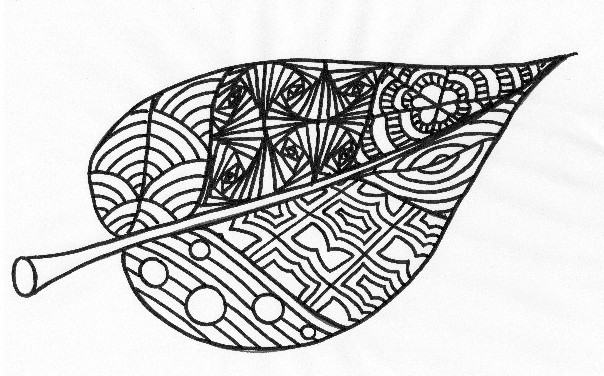 zentangle-leaf-drawing