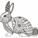 zentangle-rabbit-abstract-coloring-page