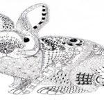 zentangle-rabbit-artwork