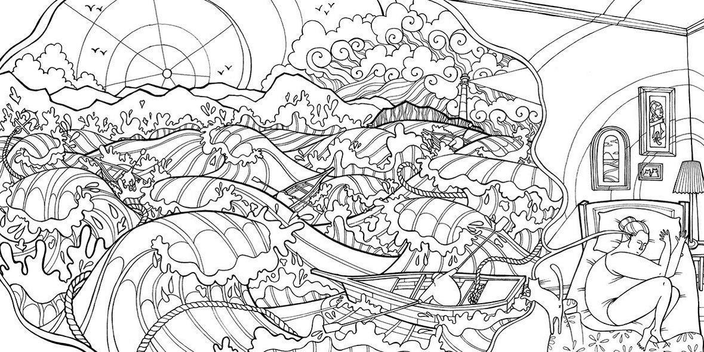 Dream-weaver-coloring-book-Illustrator-Olivia-Whitworth