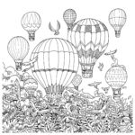 Hot-balloon-air-Imagimorphia-coloring-book