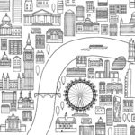 London-city-coloring-page-see-from-above