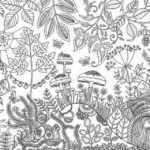 Magical Jungle Coloring Book