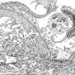 Mythomorphia-dragon-coloring-book