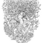 Mythomorphia-mermaid-coloring-book