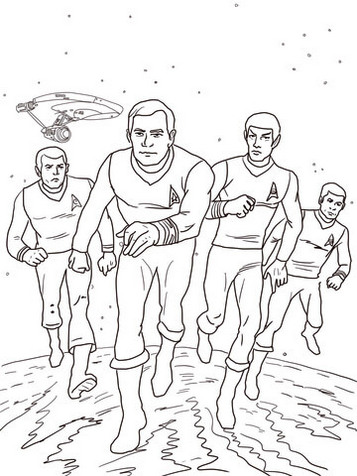 Star-Trek-in-Planet-Coloring-Book