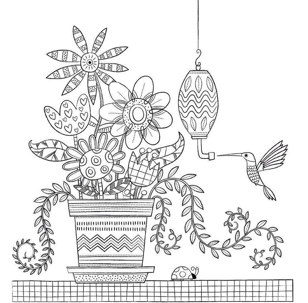 a-vase-of-flower-in-room-home-sweet-home-coloring