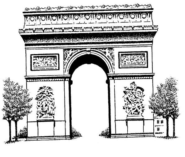 arc-de-triomphe-napoleon-bonaparte-drawing