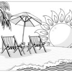 at-beach-coloring-book
