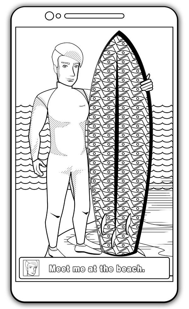 at-beach-coloring-book-surfing