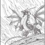 creative-haven-winged-fantasy-coloring-book-dragon