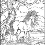 Winged Fantasy Coloring Book Unicorn