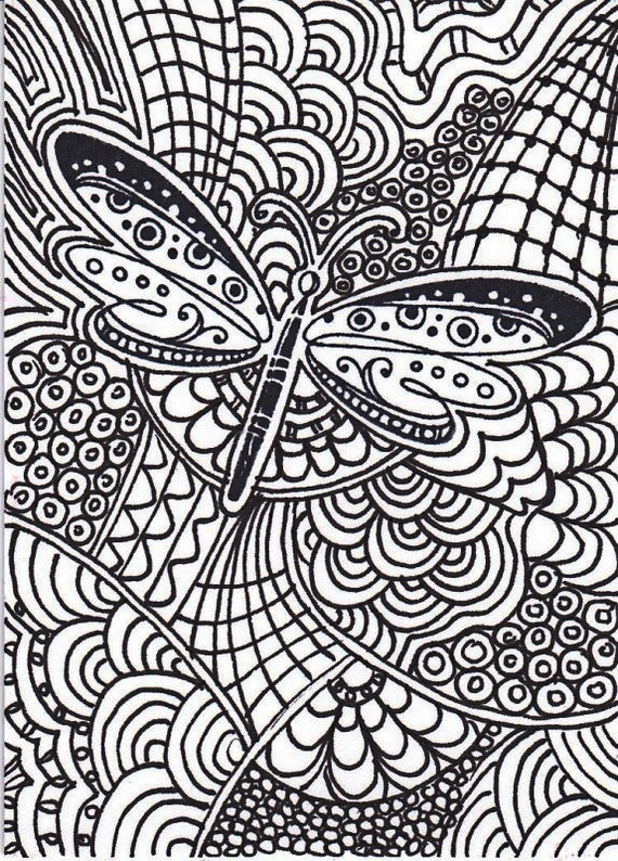 dragonfly-intricate-pattern-coloring-picture