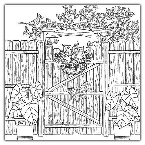 home-sweet-home-rail-fence-coloring-page