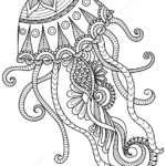 jellyfish-zentangle-coloring-online