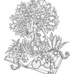 Magical Jungle coloring sheet
