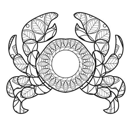 mandala-crab-coloring-page
