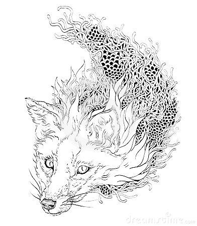 mandala-fox-coloring-sheet