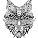 mandala-fox-mask-coloring-picture