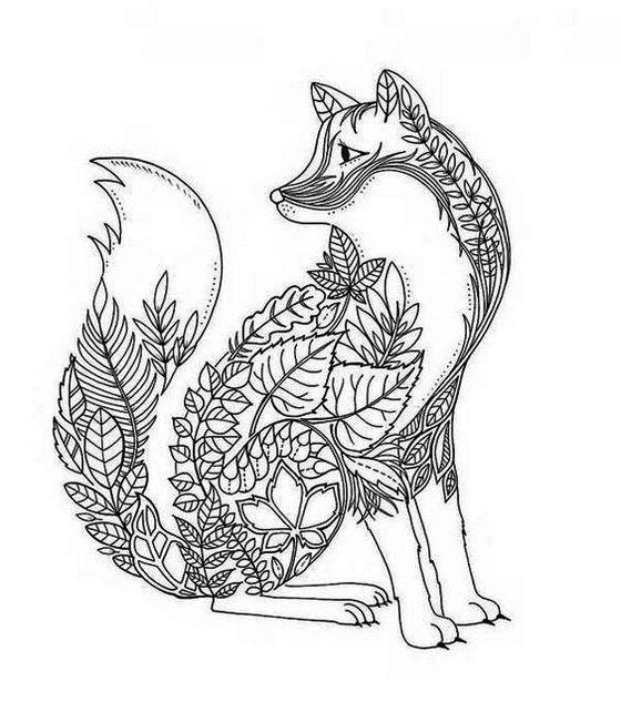 printable-mandala-fox-coloring-page