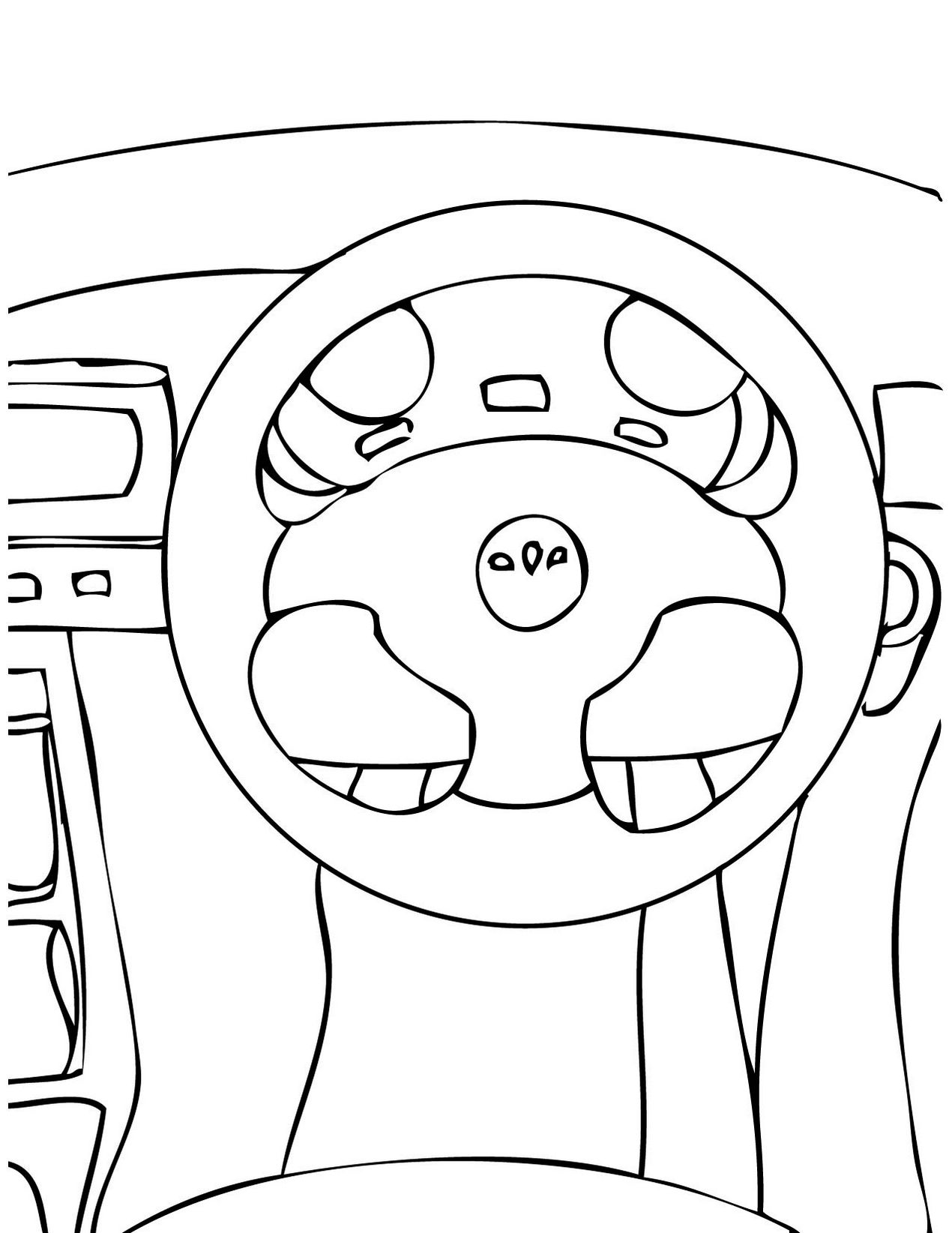 steering_wheel_parts_of_auto_print_out_drawing