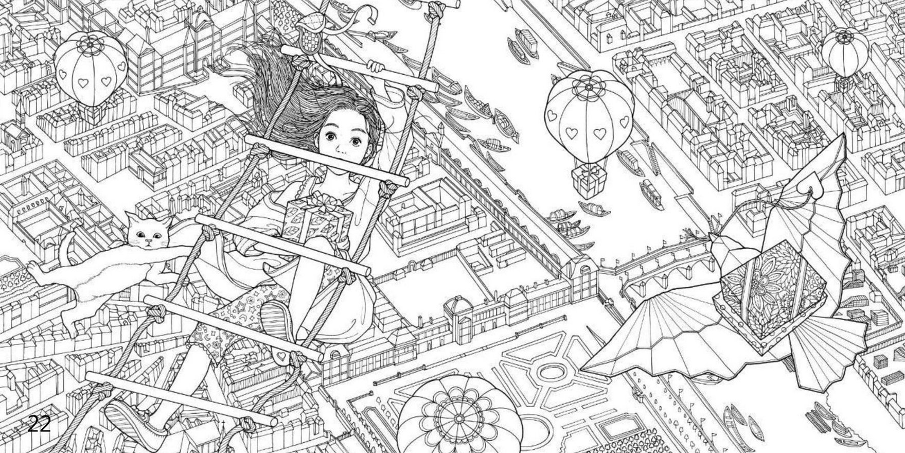 the-night-voyage-hot-air-balloon-coloring-book