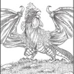 winged-fantasy-coloring-book-printable-dragon