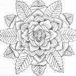 zen-mandala-rose-coloring-page
