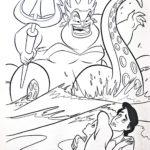 Ariel-and-Ursula-Disney-coloring-page