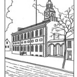 Independence-Hall-Picture-Drawing