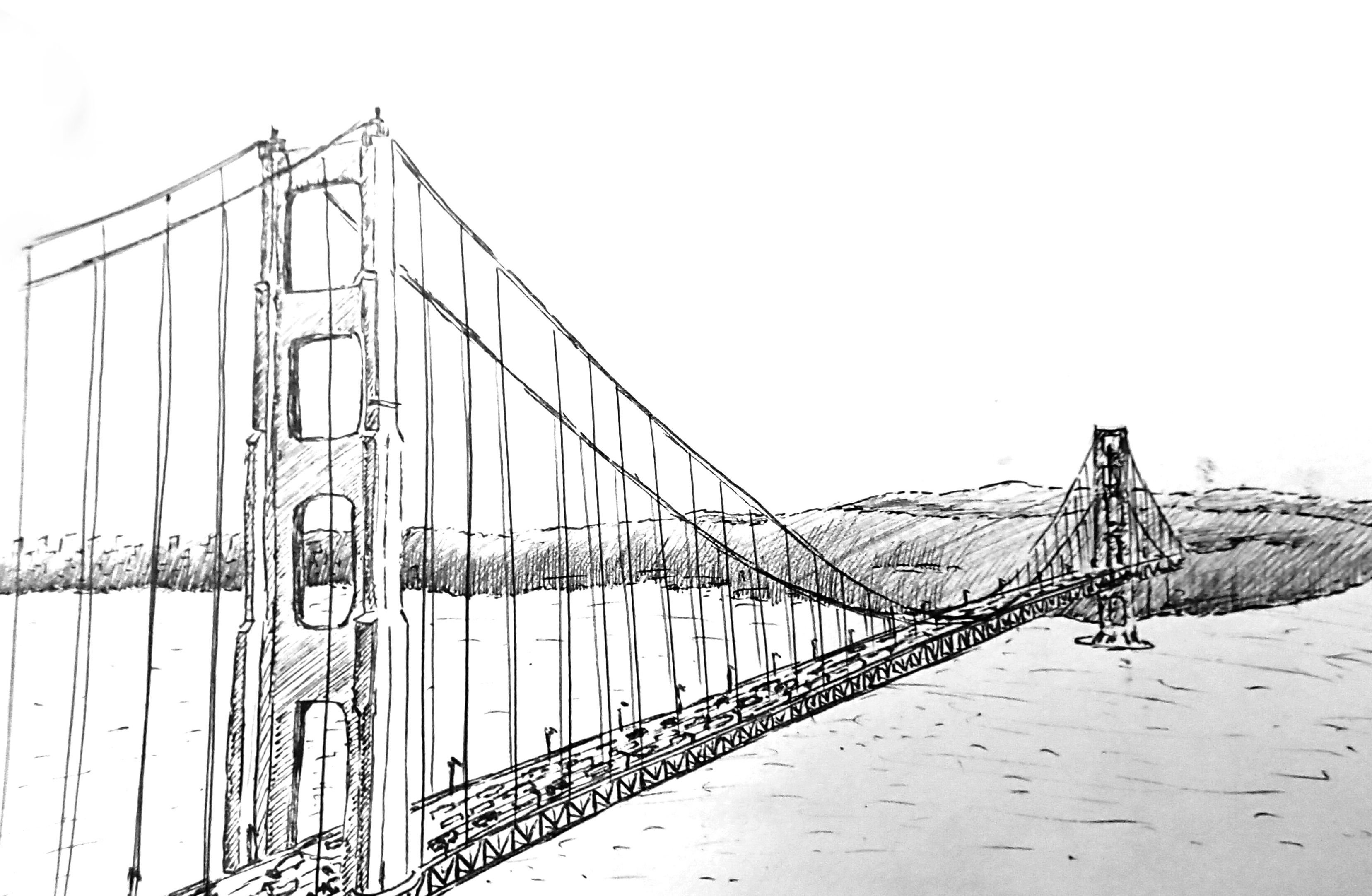 golden gate coloring pages - photo#20