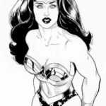 Beautiful-Gal-Gadot-Wonder-Woman-Coloring-Pages