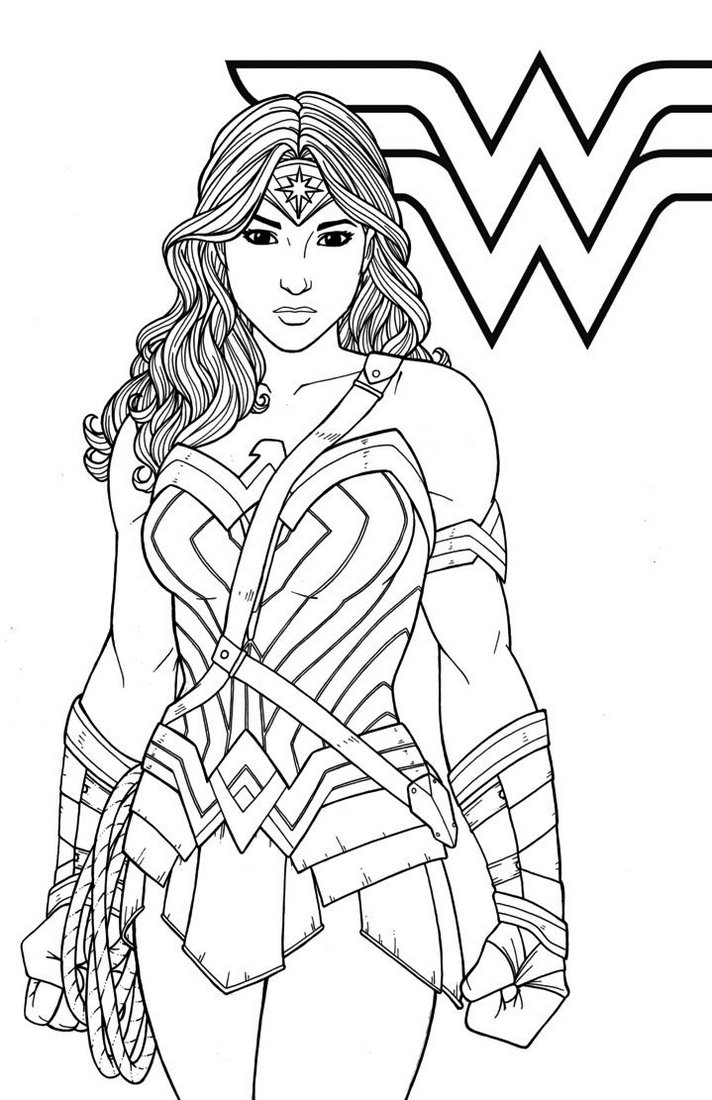 Gal-Gadot-Wonder-Woman-DC-Super-Girls-Coloring-Books