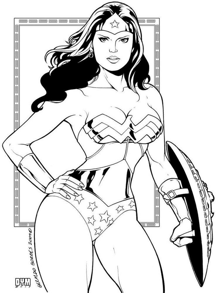 Super-Girls-Gal-Gadot-Wonder-Woman-Coloring-Pages-HD